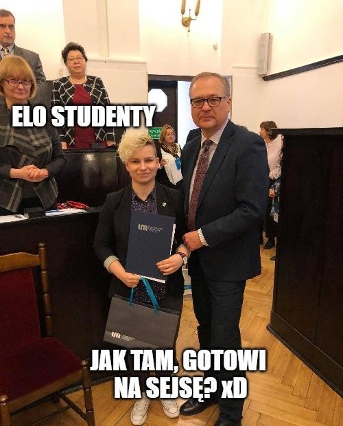 Agata jako druga osoba w Polsce obroniła doktorat przed magisterką, również z medycyny