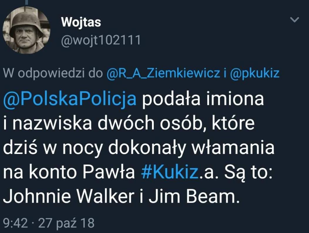 Nocne tweety Pawła Kukiza