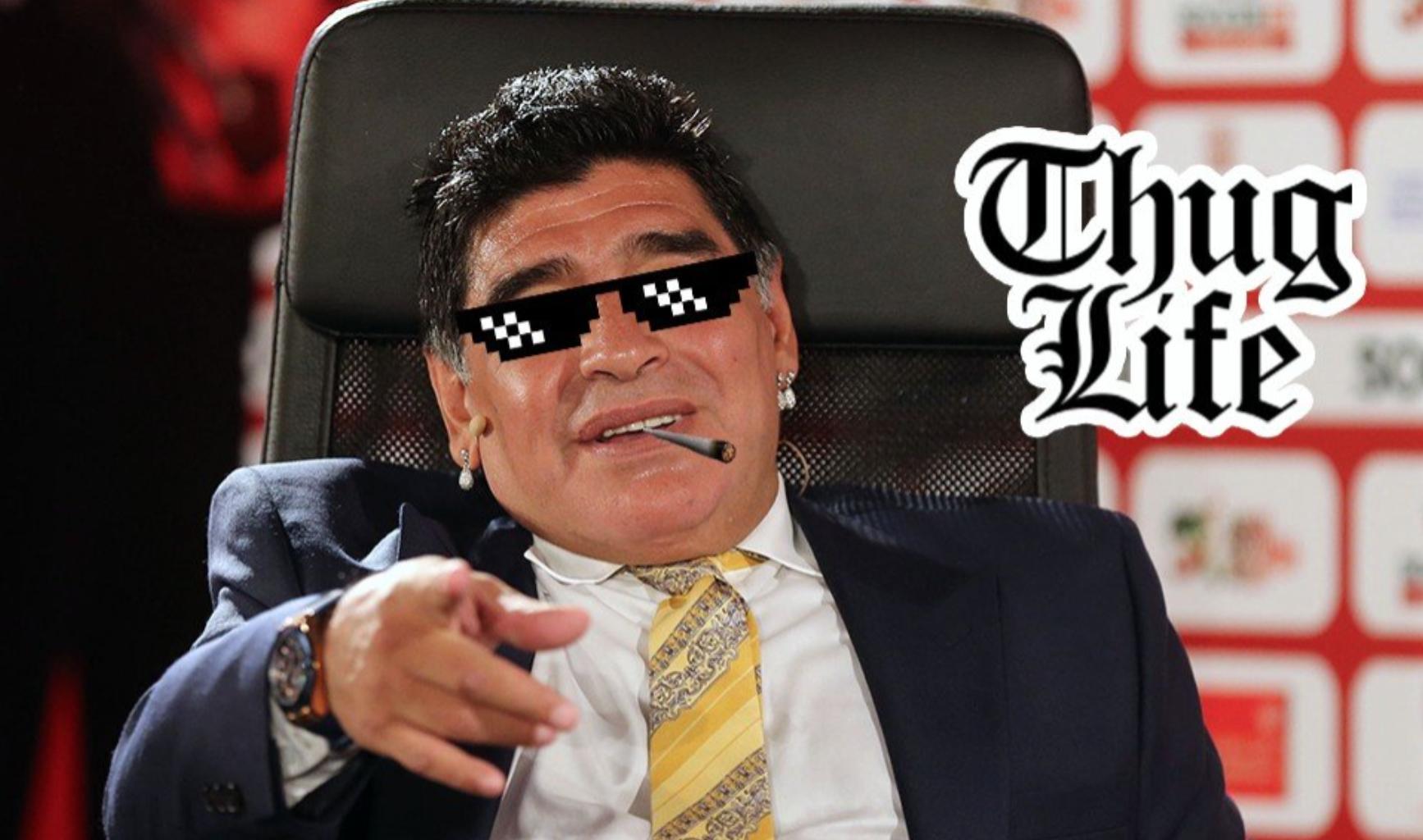 Jak Maradona zgasił raz w Watykanie Jana Pawła II