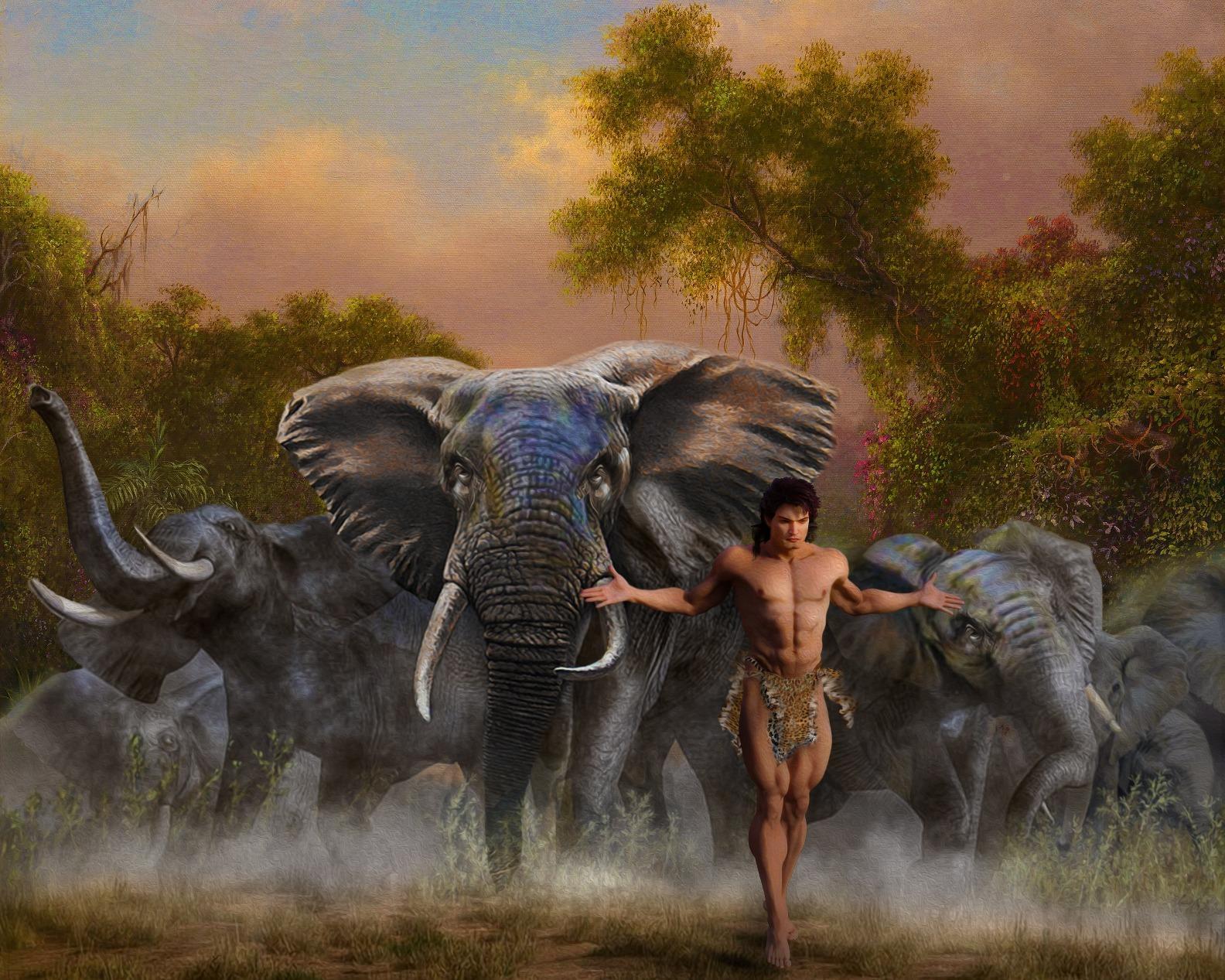 Chiny: stado dzikich słoni ruszyło w podróż życia, idą już 500 km i chyba im się podoba