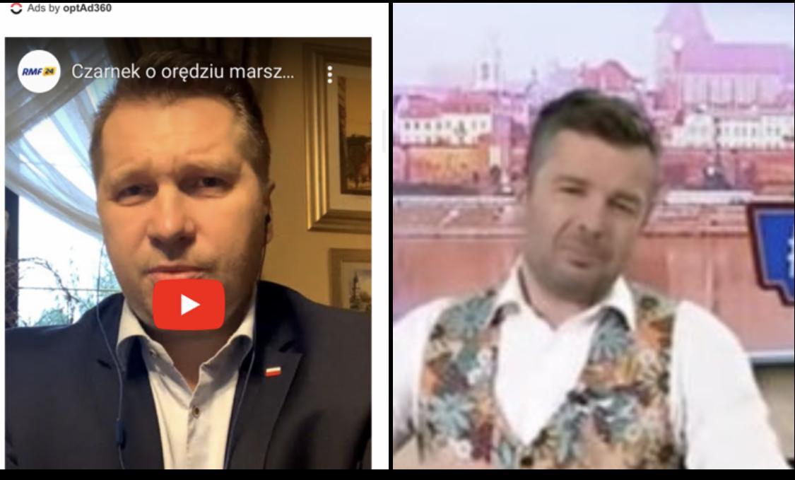Krzysztof Ziemiec, choć wyraźnie strudzony, bohatersko starł się z ministrem Czarnkiem w ogniu pytań i odpowiedzi