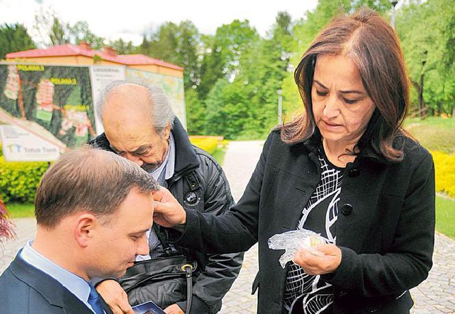 Prezydent Duda zainteresował się polską nauką i trzyma kciuki za nowatorskie preparaty