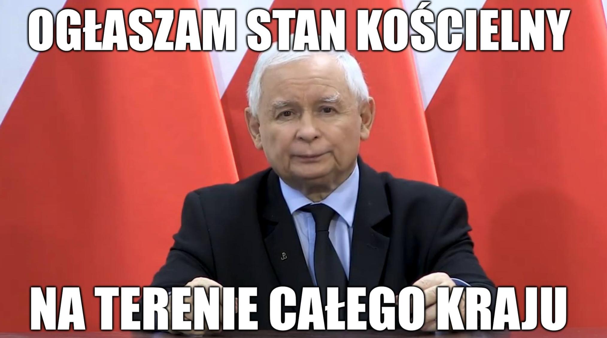Jarosław Kaczyński wręcz zachęca do starć na ulicach, wzywa do obrony kościołów i walki z protestującymi