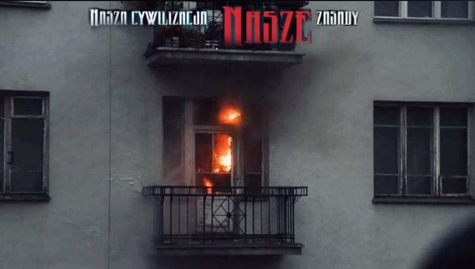 Właściciel mieszkania podpalonego przez narodowców