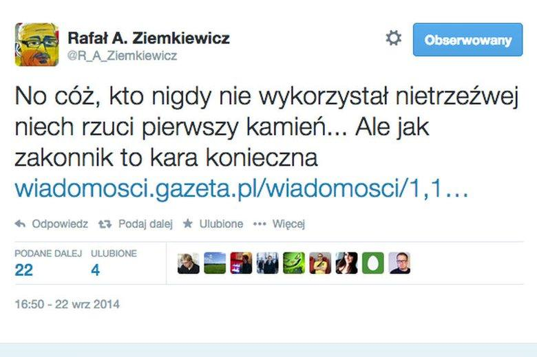 Ziemkiewicz: lewica doprowadziła do zbydlęcenia młodych kobiet, typ agresywnej, młodej k****i