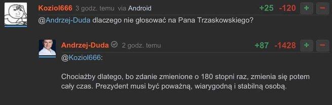 Andrzej Duda udzielił wywiadu Paciorkowi z tego kanału z trudną nazwą