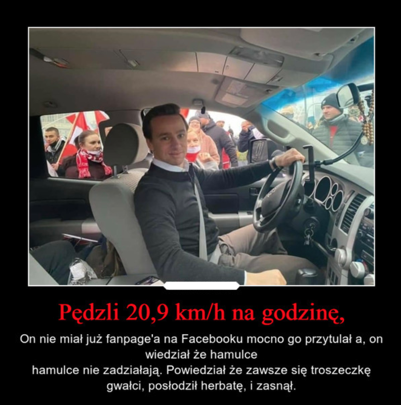 Janusz Korwin-Mikke dostał bana na Facebooku, miał prawie 800 000 fanów