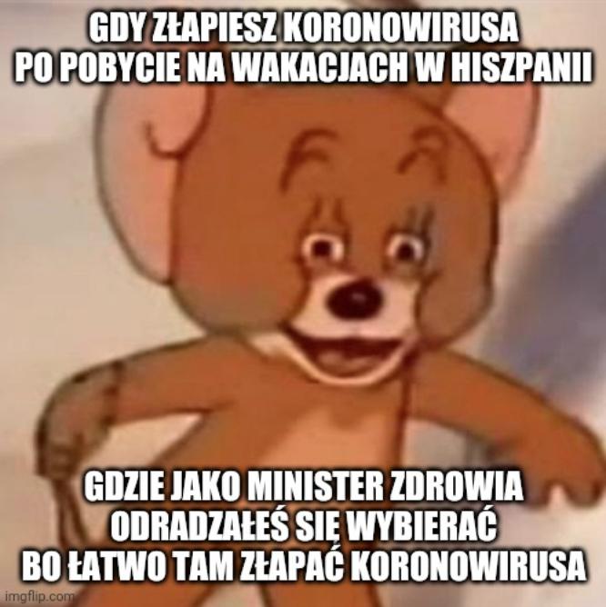 Minister Szumowski przyłapany na zakupach, mówi, że już jest zdrowy